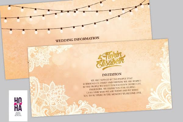 invitatie si wedding info